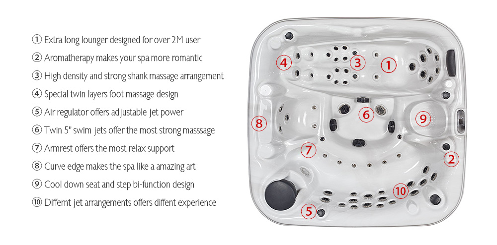 JOYSPA® hot tubs are the most complete and versatile synthesis of wellbeing. Our wide range of hot tubs offers models for use indoors, outdoors and the garden.