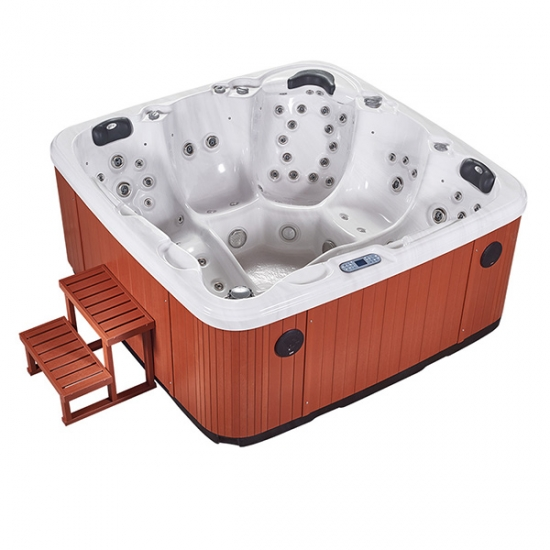 best selling eight person hot tub
